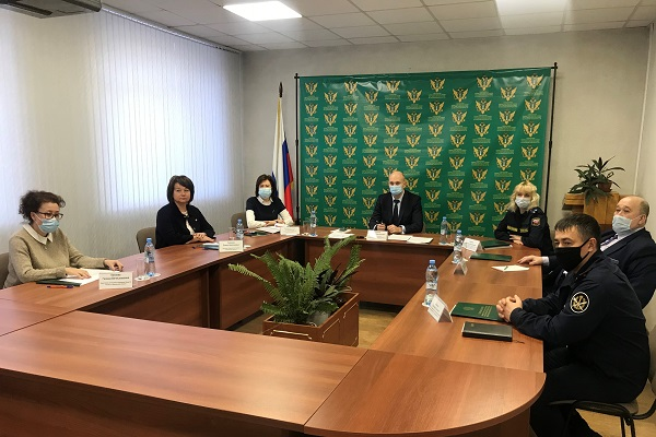 Координационное совещание под председательством Министра юстиции РФ Чуйченко К.А.