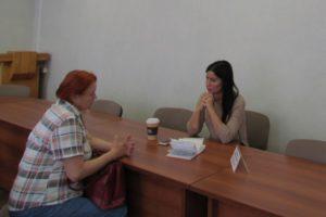 Прием граждан в рамках сотрудничества с Уполномоченным по правам человека