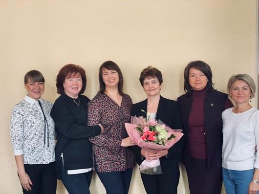 Поздравляем с юбилеем адвоката Бурову Елену Альбертовну